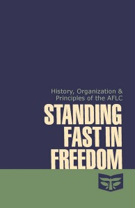 Standing Fast in Freedom
